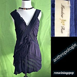 Texture Festival Blue Dress or Tunic